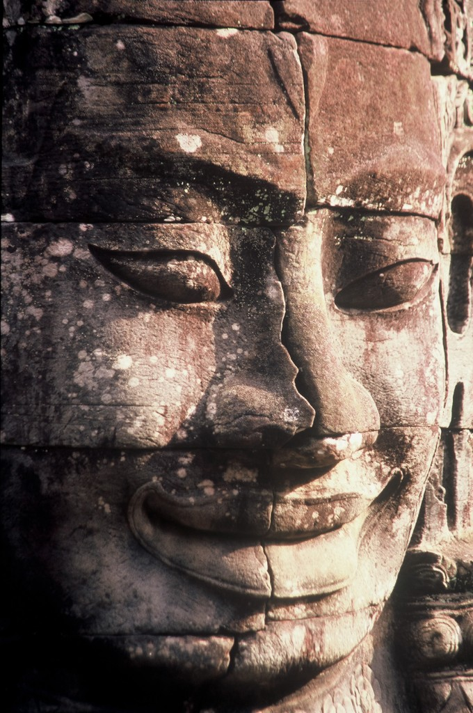 3.Bayon.Title.Face Bayon Temple Siem Reap