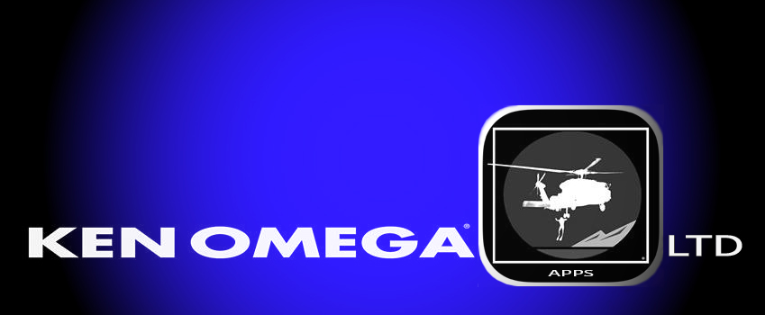 Ken Omega is a Web Content Developer, Artist, and Helicopter Pilot