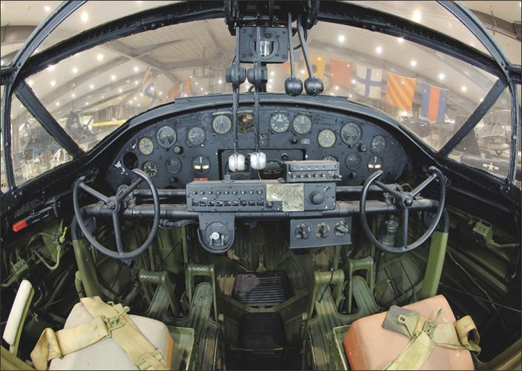 PBY Catalina Cockpit